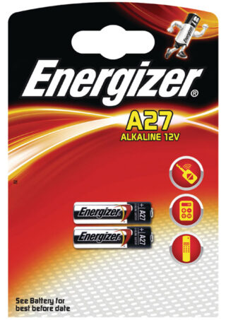 ENERGIZER A27/2ΤΕΜ