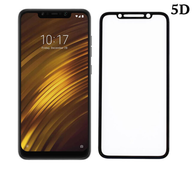 POWERTECH Tempered Glass 5D Full Glue για Pocophone F1 Qualcomm