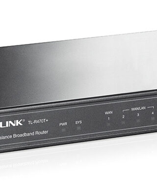 TP-LINK Load Balance Broadband Router TL-R470T+