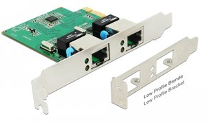 DELOCK PCI Express Card σε 2x Gigabit LAN 89999